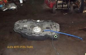 Alfa Mito Diesel Tank wrong fuel