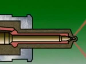 CDI wrong fuel injector