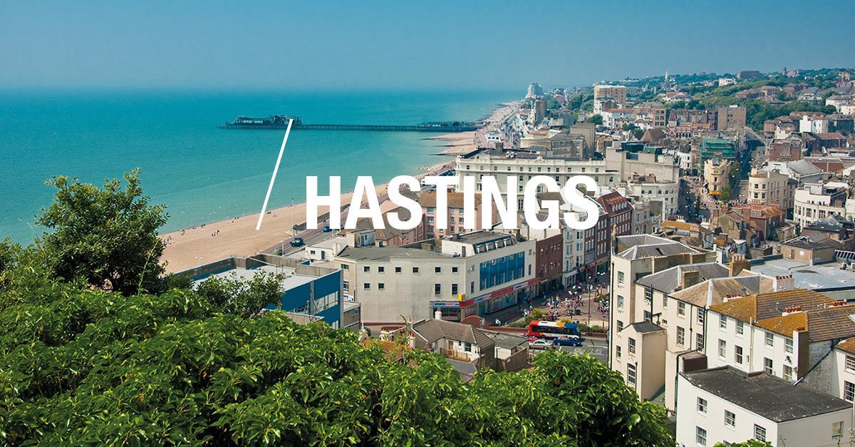 Hastings seaside