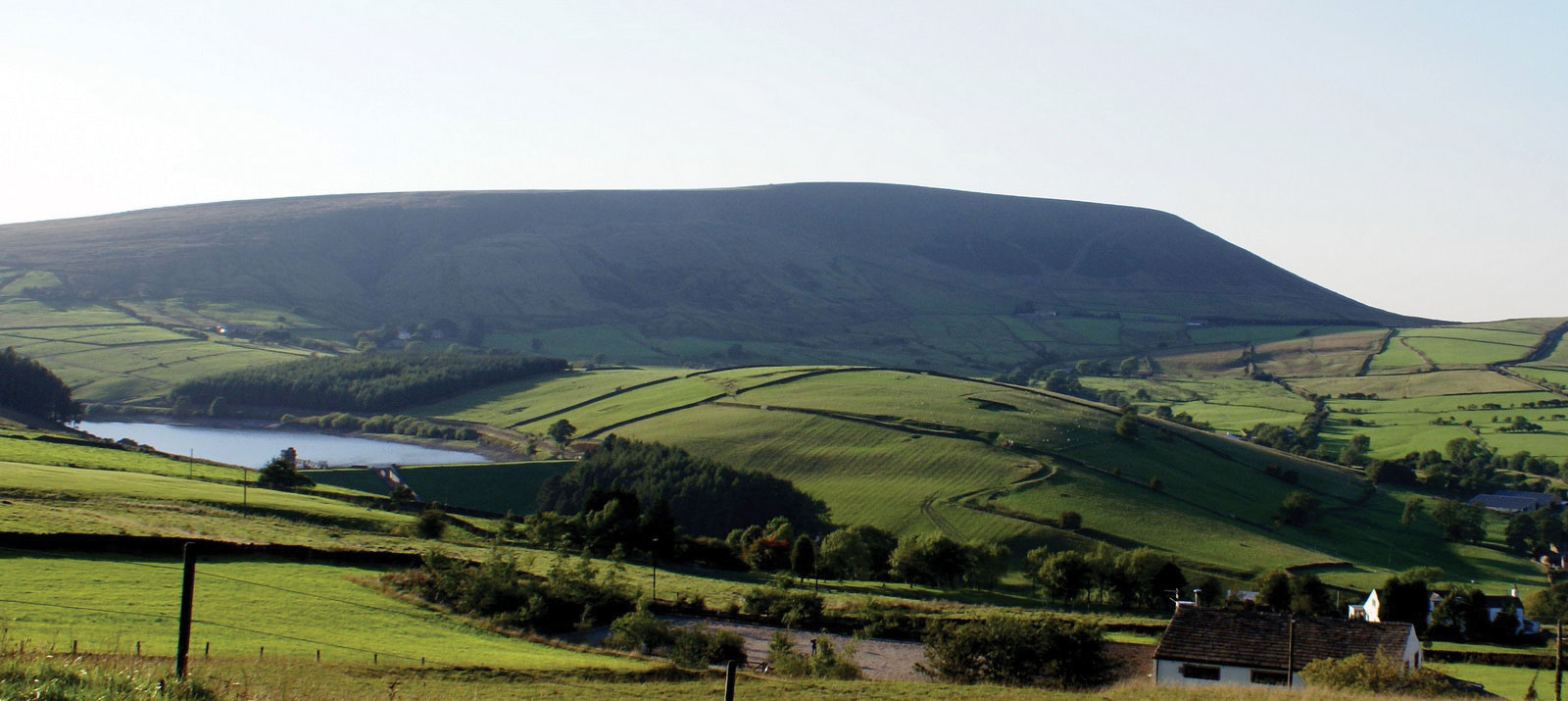 A photo of the Lancashire countryside